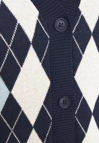 Monki - MAJA VEST - Waistcoat - navy/blue/offwhite - 2