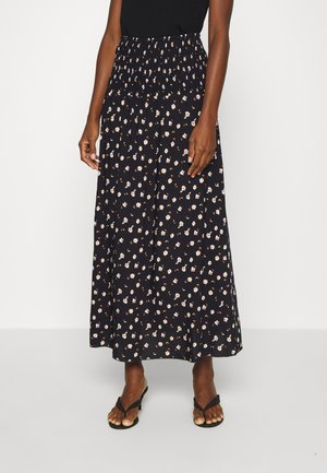 BELLIS SKIRT - Maxi sukně - blue deep