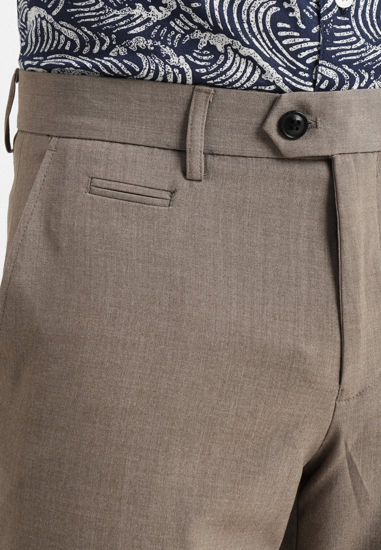 Lindbergh Club Pants - Bukse Beige Mix/beige