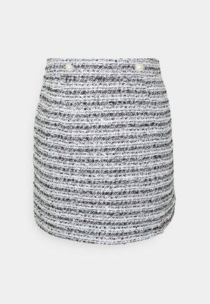 BOUCLE SKIRT - Mini skirt - multi
