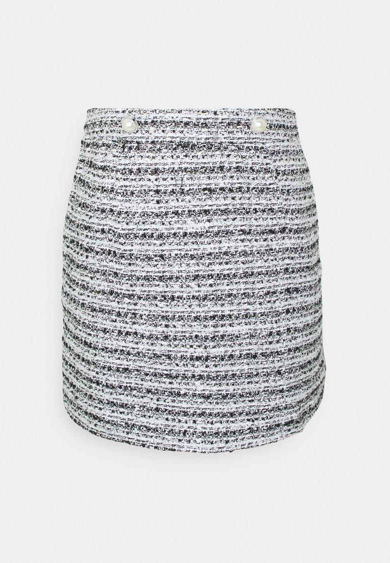 Miss Selfridge - BOUCLE SKIRT - Mini skirt - multi