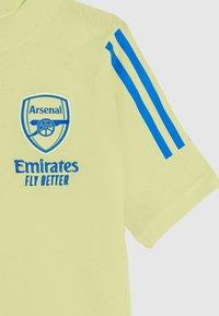 adidas Performance - AFC TEE - Club wear - yellow tint - 2
