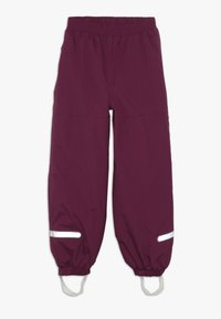 LEGO Wear - PLATON SKI PANTS - Talvihousut - bordeaux - 0