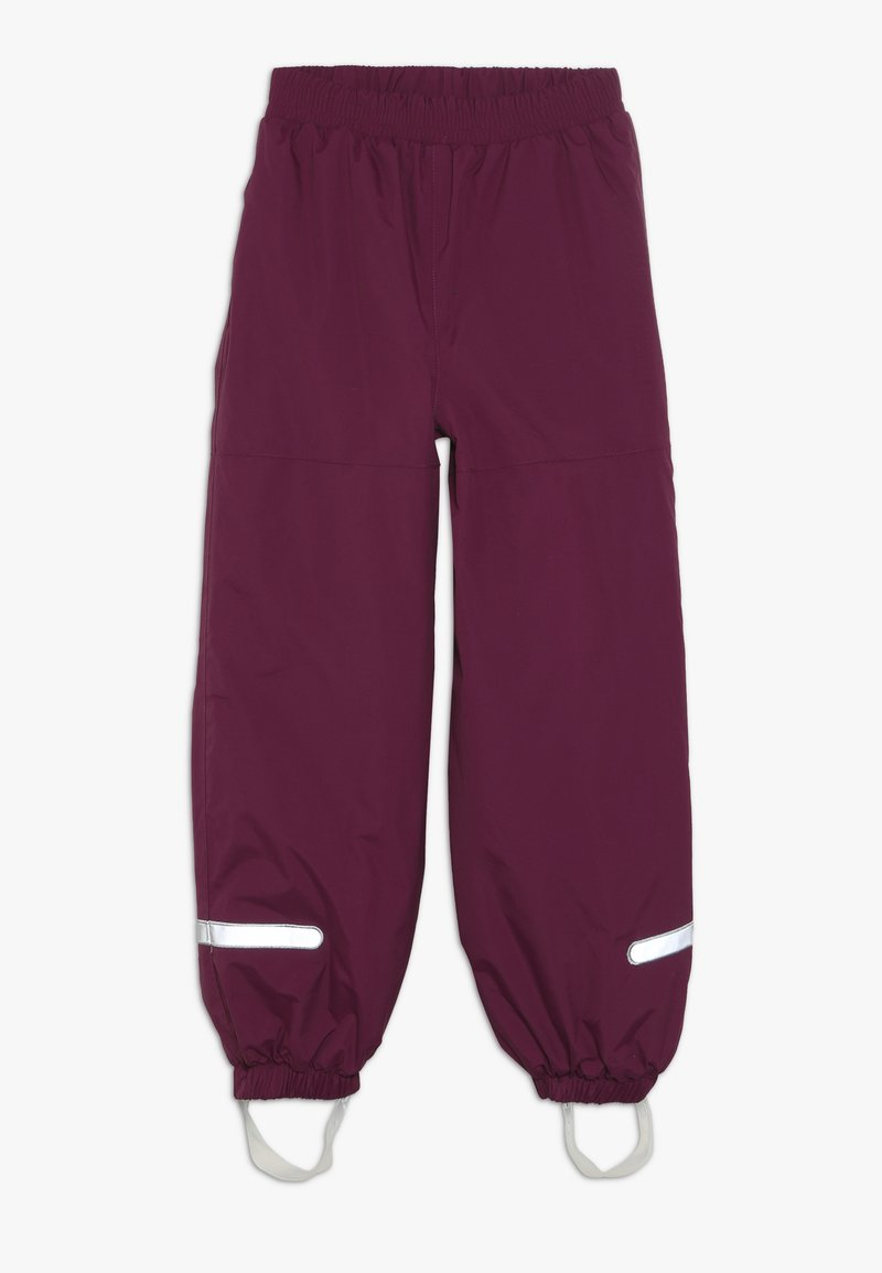 LEGO Wear - PLATON SKI PANTS - Talvihousut - bordeaux