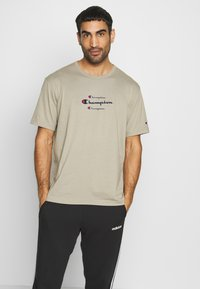 Champion - ROCHESTER WORKWEAR CREWNECK  - T-shirt z nadrukiem - grey - 0