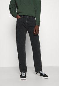 Carhartt WIP - PONTIAC PANT MAITLAND - Straight leg jeans - black stone washed - 0