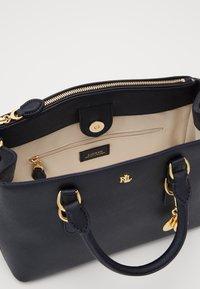 Lauren Ralph Lauren - MINI ZIP SATCHEL - Handbag - navy - 2