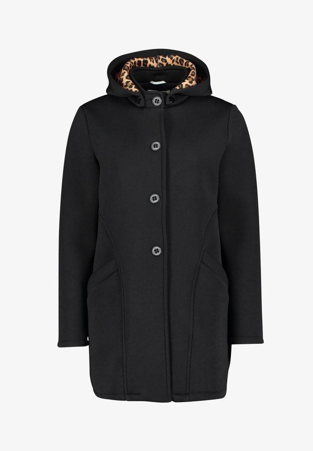 MIT ABNEHMBARER KAPUZE - Classic coat - schwarz