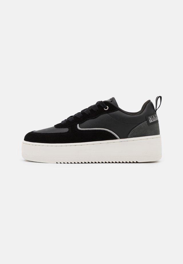 RIVER - Sneakers laag - black