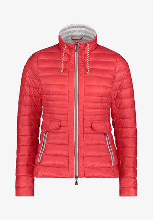 GIL BRET STEPPJACKE MIT KUNSTDAUNE - Winter jacket - wild red