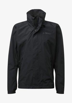 AX JACKET - Waterproof jacket - black