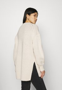 Marc O'Polo - LONGSLEEVE ROUND NECK - Pullover - off white - 2