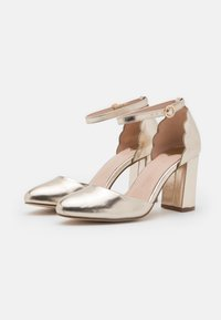 Dorothy Perkins Wide Fit - WIDE FIT DELANY COURT - Classic heels - gold - 2