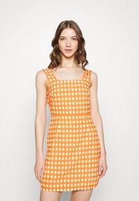 Glamorous - MAYA - Day dress - rust gingham - 0