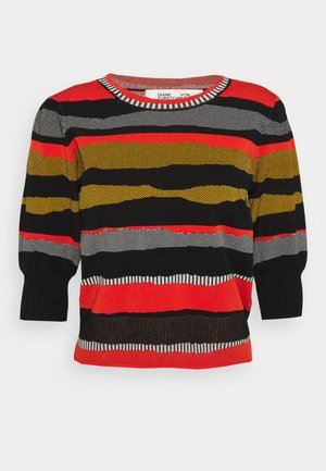 MICKEY  - Jumper - black/red/grey