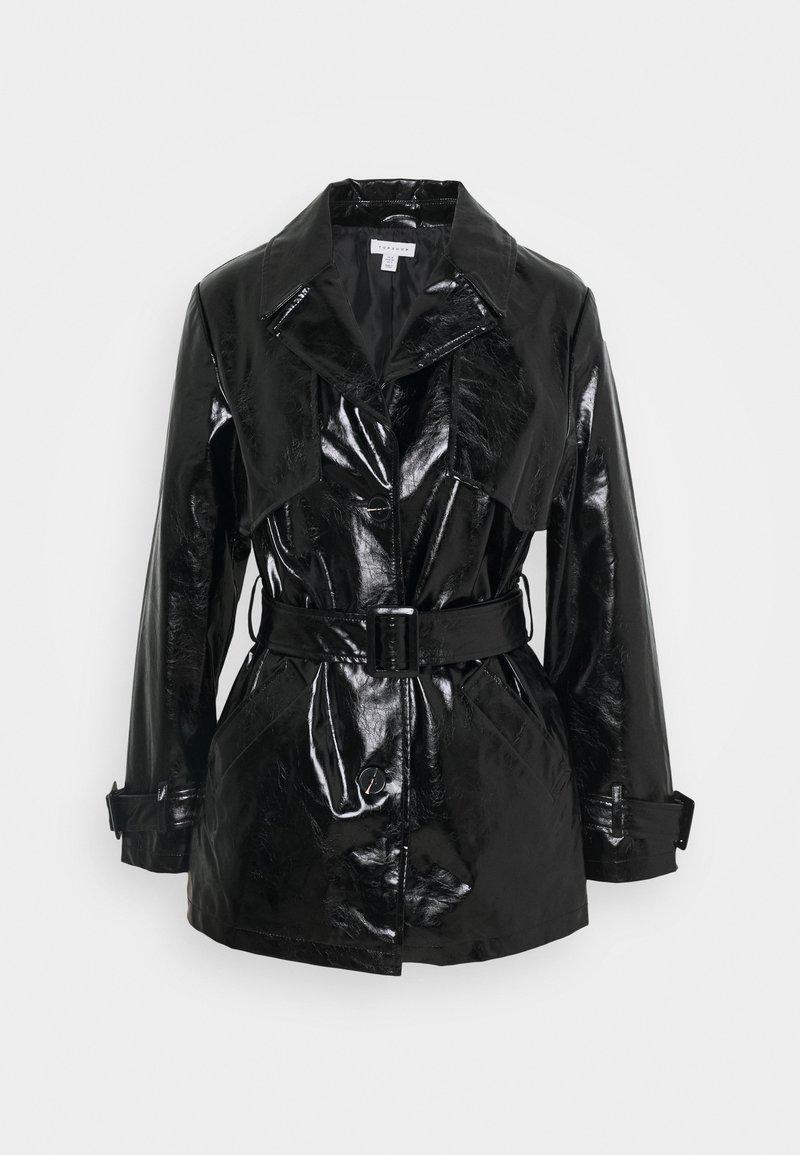 Topshop - DOLLY SHACKET - Trenchcoat - black