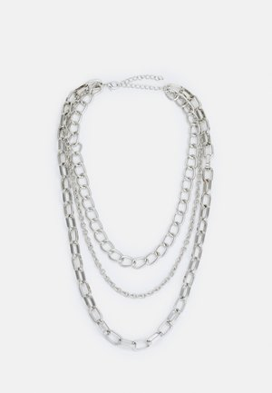 CLASSIC LAYERING NECKLACE UNISEX - Náhrdelník - silver-coloured