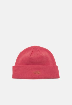 NORM SHALLOW BEANIE UNISEX - Čepice - faded rose