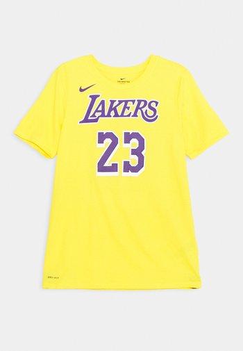 NBA LA LAKERS LEBRON JAMES BOYS ICON TEE