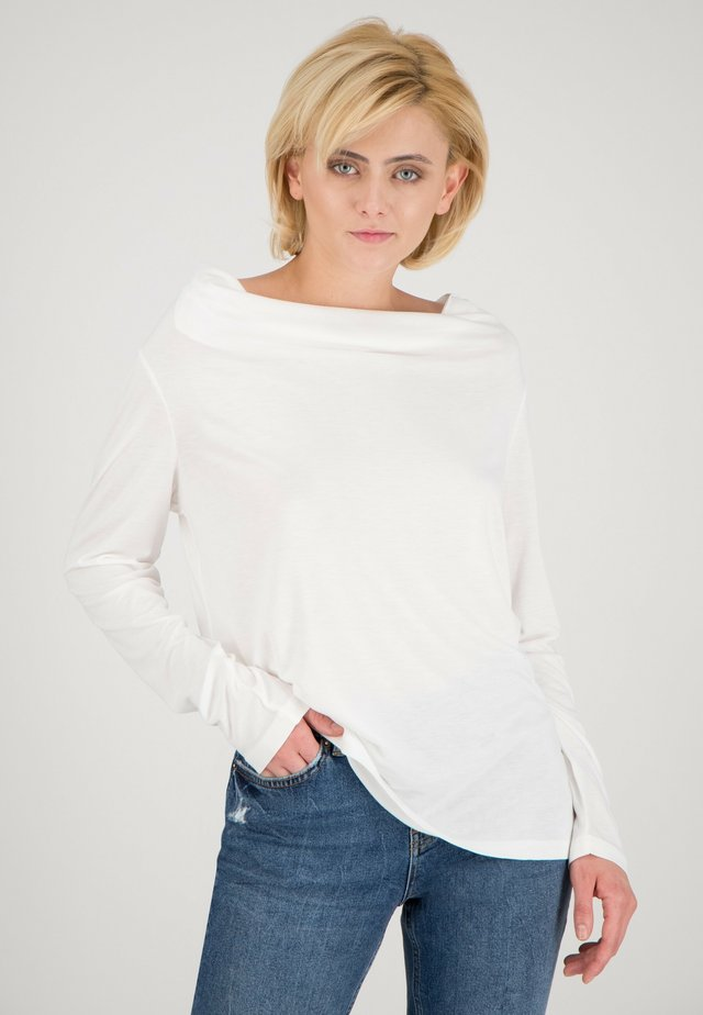Long sleeved top - offwhite