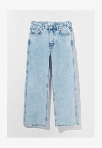 Bershka - Flared Jeans - blue denim - 4