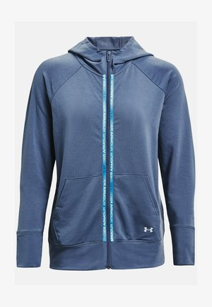 RIVAL TERRY  - Zip-up hoodie - mineral blue