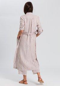 Marc Aurel - Shirt dress - camel varied - 1