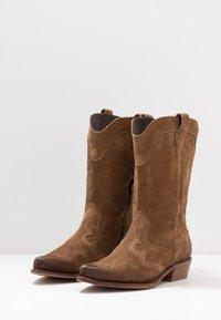 Felmini Wide Fit - GERBBERA - Cowboy/Biker boots - momma - 4