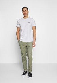 Superdry - VINTAGE CREW - Basic T-shirt - grey - 1