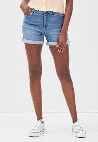 Cache Cache - Denim shorts - denim double stone - 3