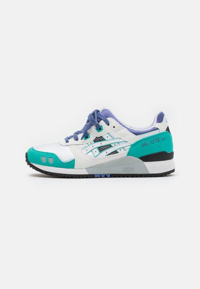 GEL-LYTE III UNISEX - Sneaker low - white/blue