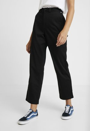 AUTHENTIC - Pantalones - black