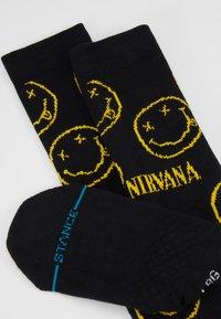 Stance - NIRVANA FACE - Chaussettes - black - 2
