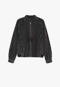 LUNA - Denim jacket - black denim