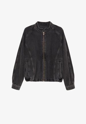 LUNA - Veste en jean - black denim