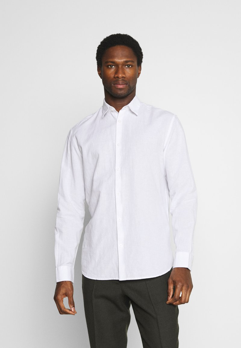 Selected Homme - SLHREGNEW SHIRT - Košile - white