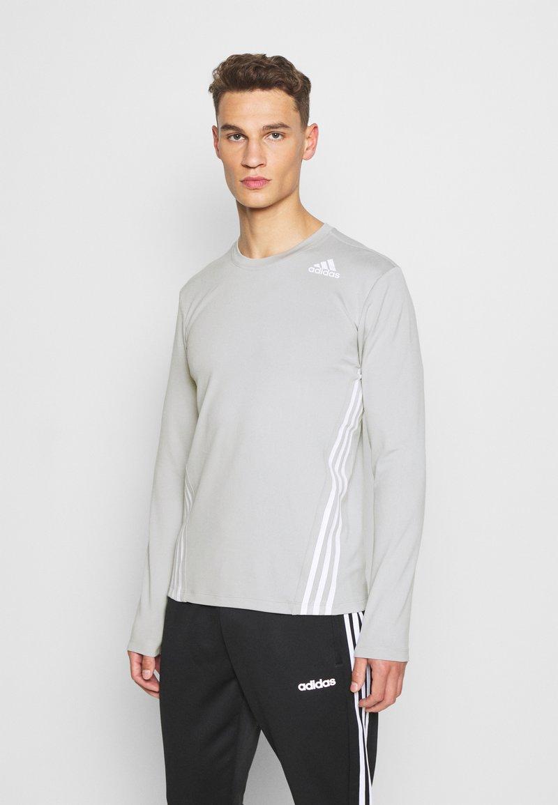 adidas Performance - AERO - Sportshirt - metal grey