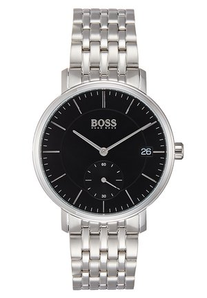 CORPORAL - Watch - silver-coloured/black