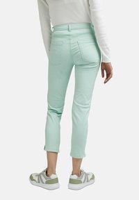 Esprit - MR CAPRI - Trousers - light aqua green - 5