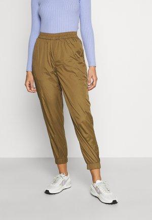 OBJCARMEN PANT - Spodnie materiałowe - sepia