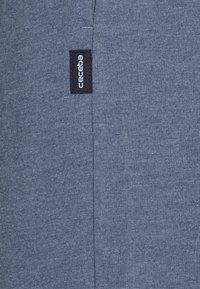 Ceceba - TROUSERS - Pyžamový spodní díl - blue dark melange - 2