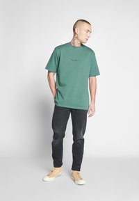 Mennace - ESSENTIAL SIGNATURE TEE 2 PACK - Basic T-shirt - teal/grey marl - 1