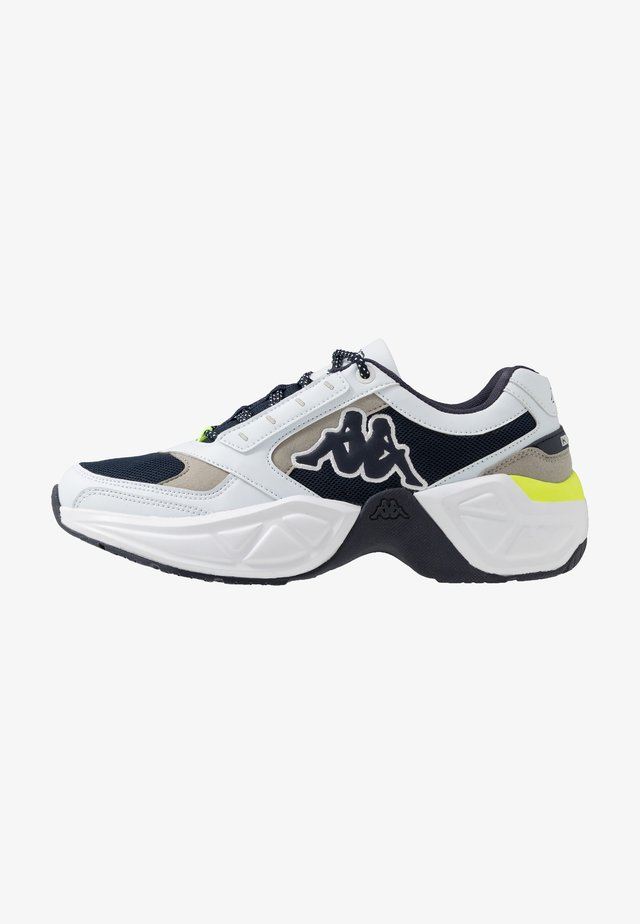 KRYPTON - Scarpe da fitness - white/navy