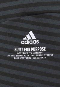 adidas Performance - Sudadera con cremallera - black - 5