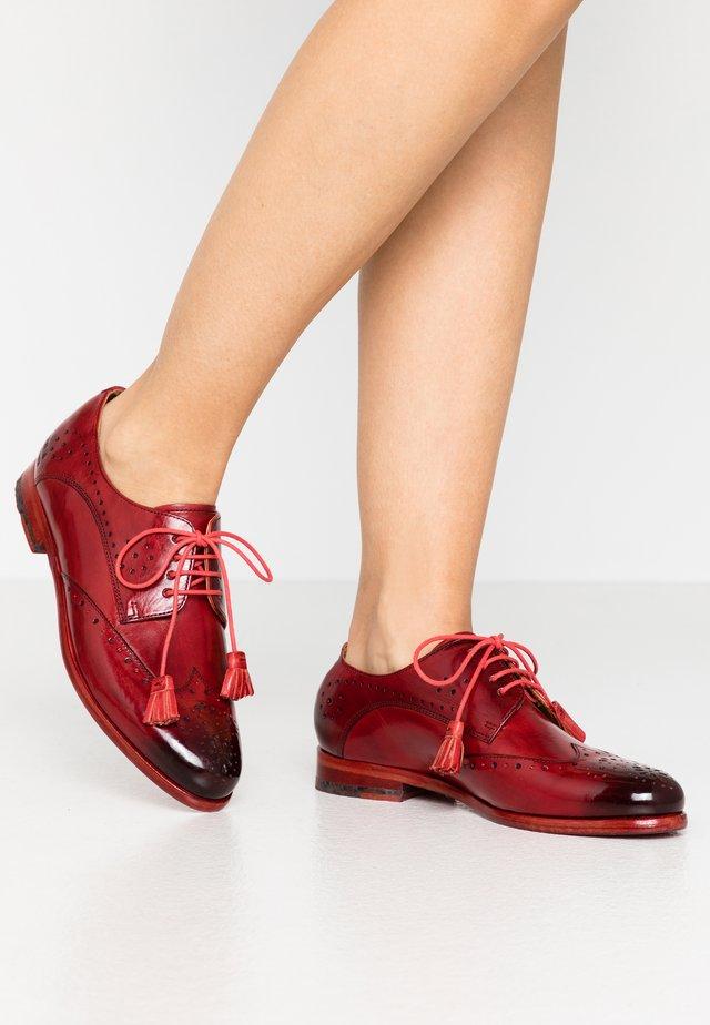 SELINA  - Šněrovací boty - red
