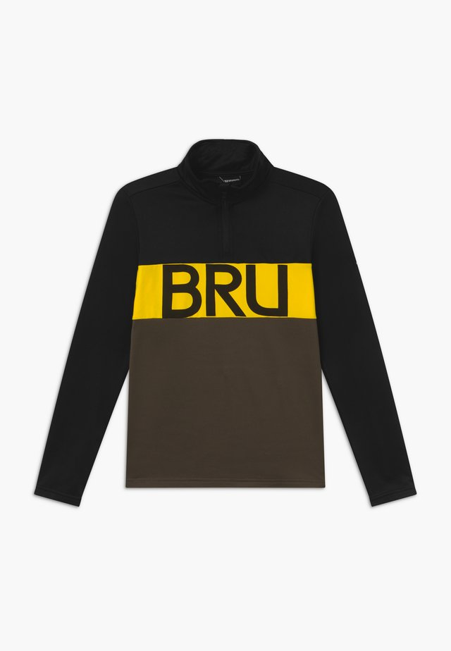 FRANK BOYS - Fleece trui - black