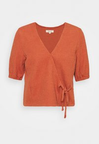 Madewell - PANETONNE  - Print T-shirt - afterglow red - 4