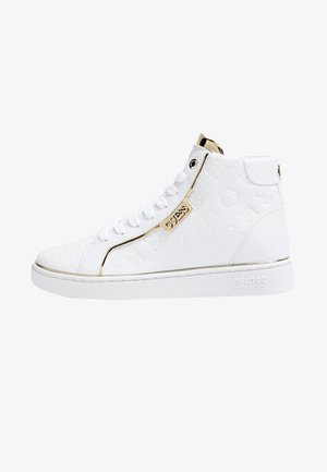 MONTANTE BRINA LOGO GAUFRE - High-top trainers - white