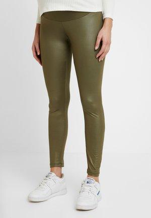 SHINNY - Leggings - Trousers - khaki