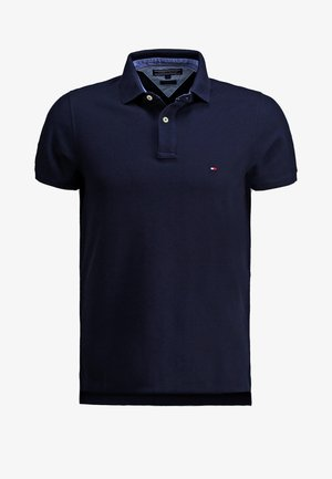 PERFORMANCE SLIM FIT - Polo shirt - blue